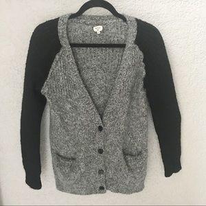 Aritzia Wilfred 100% Alpaca Wool Cardigan